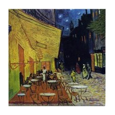 Cafe at Arles Tile Coaster