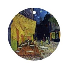 Cafe at Arles Ornament (Round)