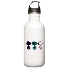 Snoopy Silhouette Water Bottle
