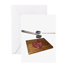 Valentines- Love me Tender 1 Greeting Card