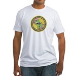 Honolulu PD Airport Detail Fitted T-Shirt