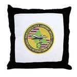 Honolulu PD Airport Detail Throw Pillow