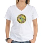 Honolulu PD Airport Detail Women's V-Neck T-Shirt