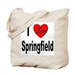 I Love Springfield Tote Bag