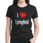 I Love Springfield (Front) Women's Dark T-Shirt