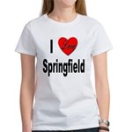 I Love Springfield Women's T-Shirt