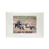 Unique German sheperd Rectangle Magnet (10 pack)