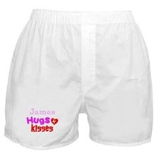 Hugs and Kisses Boxer Shorts