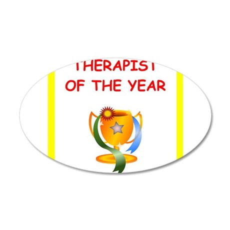 therapist Wall Decal