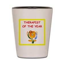 therapist Shot Glass