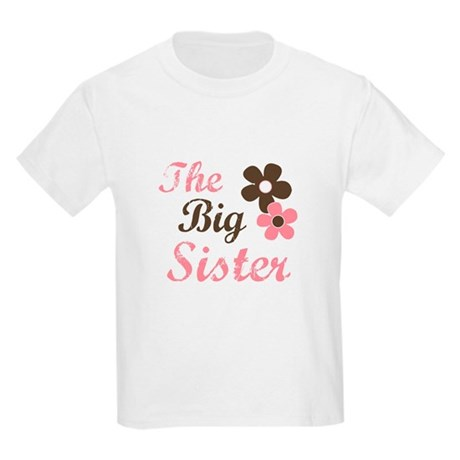 the big sister flower Kids Light T-Shirt