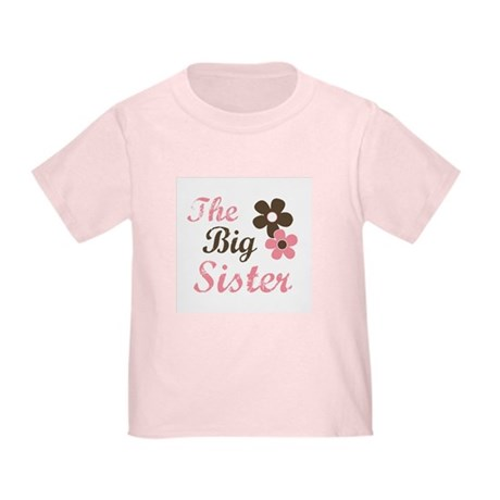 the big sister flower Toddler T-Shirt