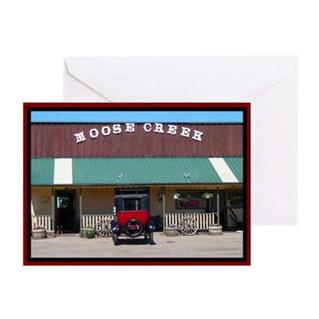 Moose Creek Antique Car Greeting Cards (Pk of 10)
