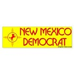 New Mexico Democrat Bumper Sticker