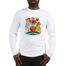 Manchester Coat of Arms Long Sleeve T-Shirt