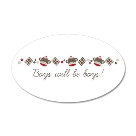 Boys Will Be Boys! Wall Decal
