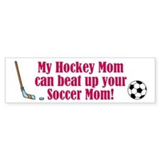 Hockey Mom - Bumper Bumper Sticker