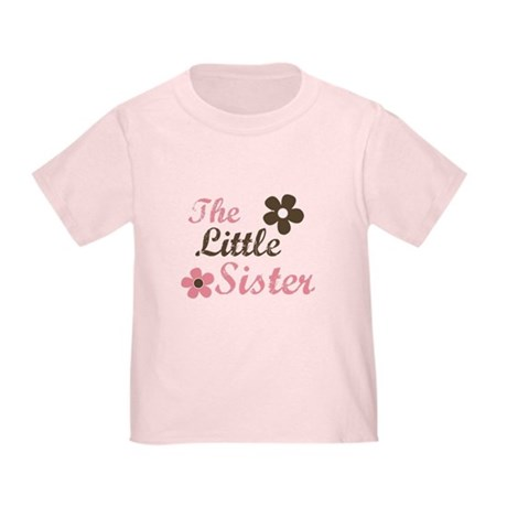the little sister pink brown flower Toddler