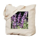 Purple Floral #1 Tote Bag