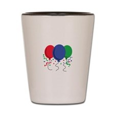 BALLOONS AND CONFETTI Shot Glass