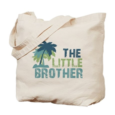 little brother palm tree Tote Bag