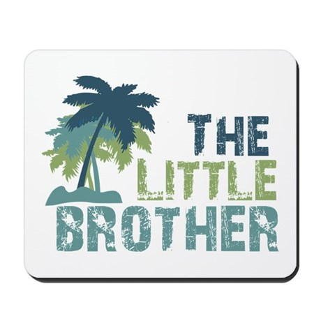 little brother palm tree Mousepad