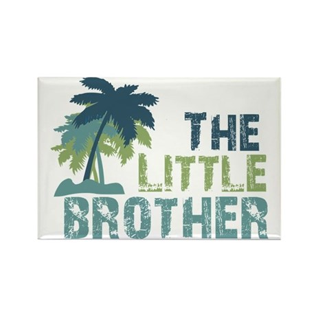 little brother palm tree Rectangle Magnet