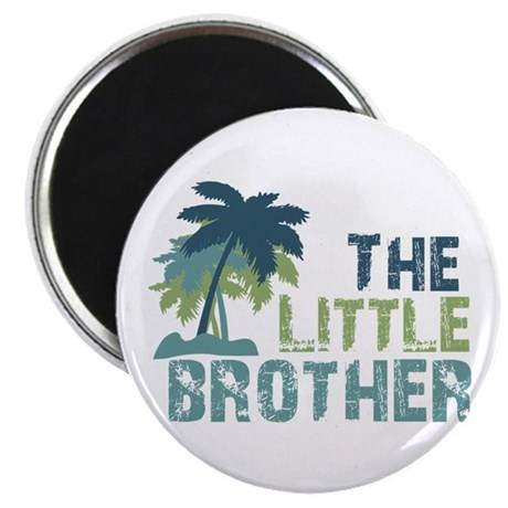 little brother palm tree Magnet