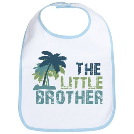 little brother palm tree Bib