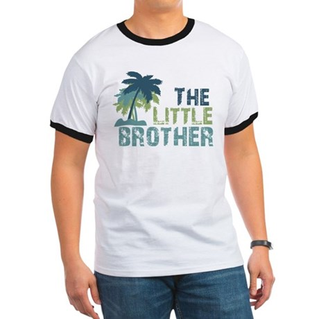 ADULT SIZES - little brother palm tree Ringer T