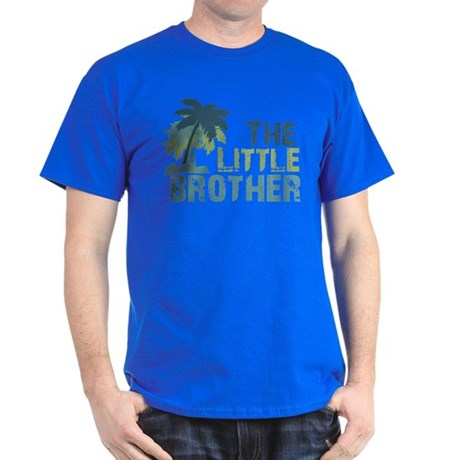ADULT SIZES - little brother palm tree Dark T-Shir