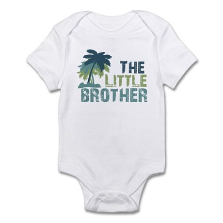 little brother palm tree Infant Bodysuit