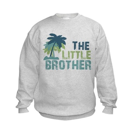 little brother palm tree Kids Sweatshirt
