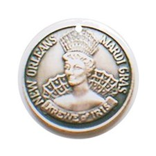 Iris Doubloon Ornament (Round)