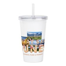 Kasich For President Acrylic Double-Wall Tumbler