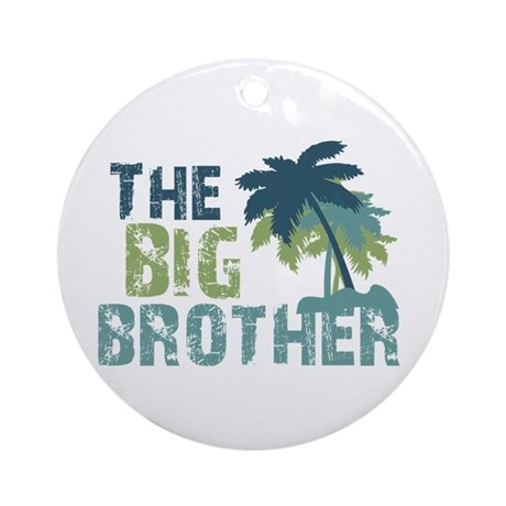 big brother palm tree Ornament (Round)