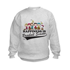 The Peanuts Gang Baseball Kids Sweatshirt