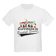 The Peanuts Gang Baseball Kids Light T-Shirt