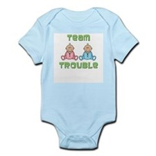 Twins Boy Girl Infant Bodysuit