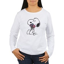 Springtime Snoopy Women's Long Sleeve T-Shirt