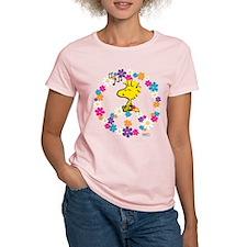 Woodstock Peace Women's Light T-Shirt
