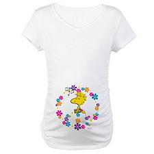 Woodstock Peace Maternity T-Shirt