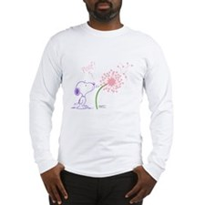 Snoopy Dandelion Long Sleeve T-Shirt