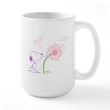 Snoopy Dandelion Large Mug