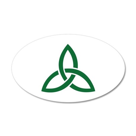 Celtic knot 20x12 Oval Wall Decal