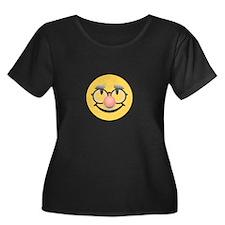Grandpa Smiley Plus Size T-Shirt