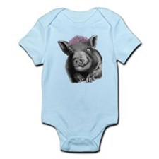Princess lucy the wonder pig Body Suit