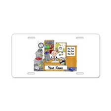 Cute Business owner Aluminum License Plate