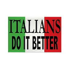 Italians Do It Better Rectangle Magnet (100 pack)