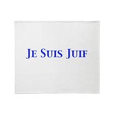 Je Suis Juif Throw Blanket